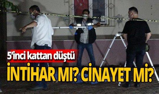 Antalya haber: 5. kattan düştü