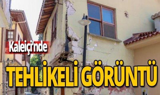 Antalya haber: Kaleiçi'nde tehlikeli görüntü