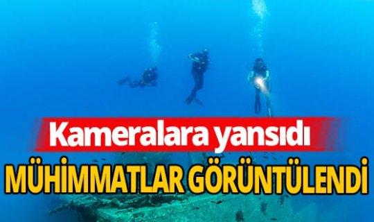 Antalya haber: St. Didier gemisi görüntülendi