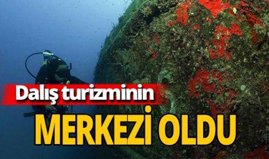 Antalya haber: Türkiye'nin dalış merkezi oldu