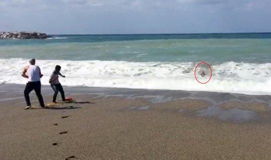 Antalya haber: Uyarıları dinlemediler, ölümden döndüler
