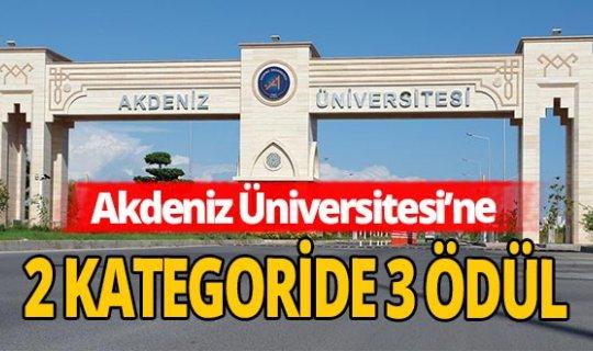 Antalya haber: YÖK'ten Akdeniz Üniversitesi'ne ödül
