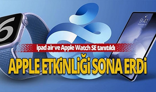 Apple yeni ürünlerini tanıttı! İşte Türkiye fiyatları