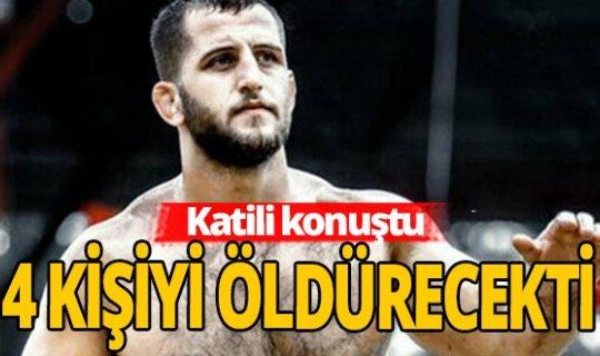 Başpehlivan Hakkı Aygün'ün katilinin ifadesi kan dondurdu