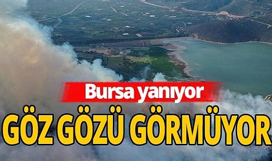 Bursa'da yangın alarmı: Dumanlar her yeri sardı