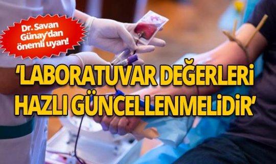 Dr. Günay: Covid'den önceki vitamin düzeyleri artık değişti!
