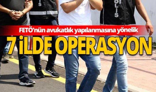 FETÖ'nün avukatlık yapılanmasına yönelik çok sayıda gözaltı