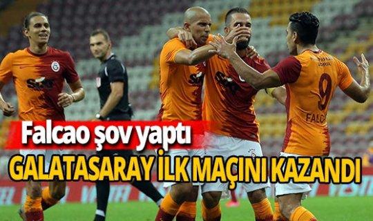 Galatasaray sezona '3' puanla başladı