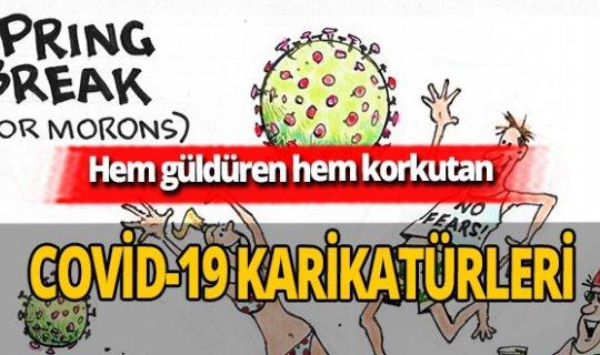 Hem güldüren hem endişelendiren koronavirüs karikatürleri