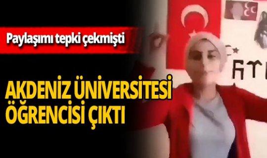 İğrenç paylaşımı yapan o kız Akdeniz Üniversitesi öğrencisi çıktı!