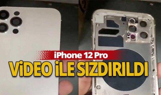 iPhone 12 Pro video ile sızdırıldı!