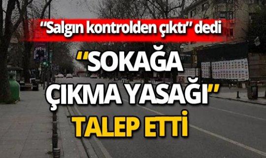 """İYİ Partili Türkkan: """"Sokağa çıkma yasakları gündeme getirilmeli"""""""