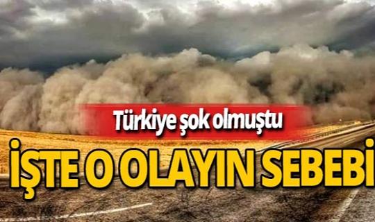 İzmir haber: Prof. Dr. Çukur açıkladı: Kum fırtınasının sebebi