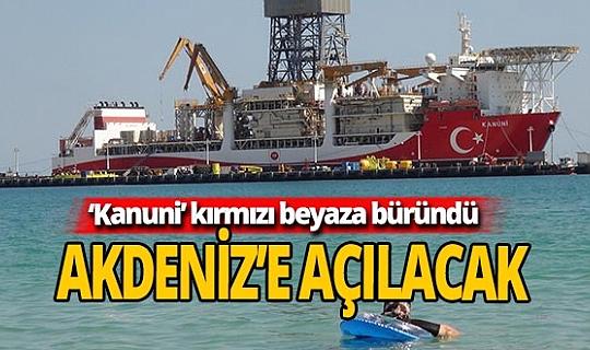 'Kanuni' Akdeniz'e açılmak için gün sayıyor
