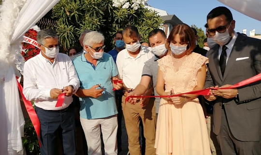 Kemer Belediyesi Başkanı Necati Topaloğlu açılışa katıldı