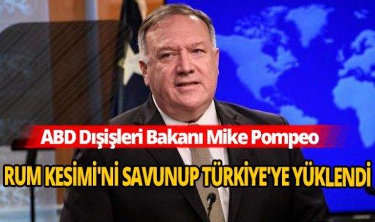 Mike Popeo, Türkiye'yi hedef aldı