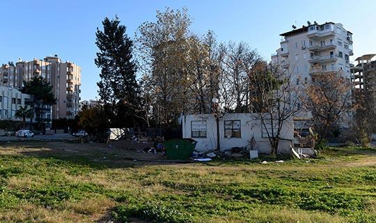 Muratpaşa'da mezbelelik alanlar temizlenecek