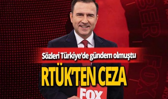 Selçuk Tepeli'ye RTÜK'ten ceza