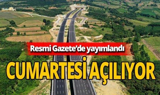 Sevindikli-TEM İzmit-1 kavşakları trafiğe açılıyor