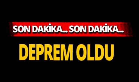 Son dakika... Adana'da korkutan deprem!