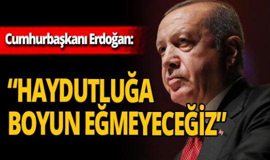 SON DAKİKA! Cumhurbaşkanı Erdoğan'dan Doğu Akdeniz açıklaması