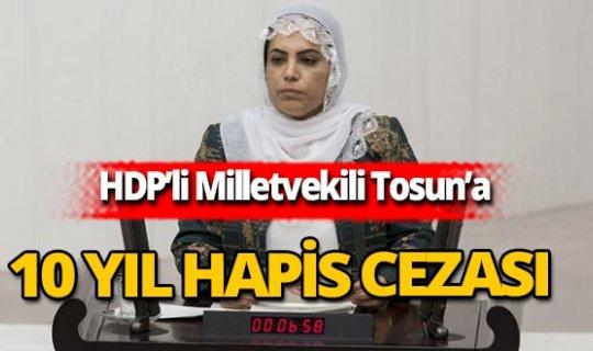 SON DAKİKA! HDP'li milletvekiline 10 yıl hapis cezası!
