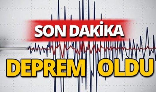 Son dakika... Muş'ta şiddetli deprem