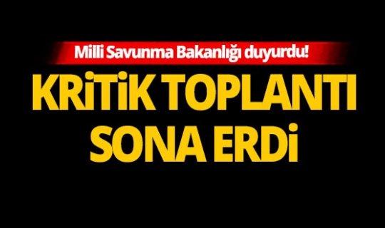 Son dakika: Türkiye-Yunanistan askeri heyetleri toplantısı tamamlandı