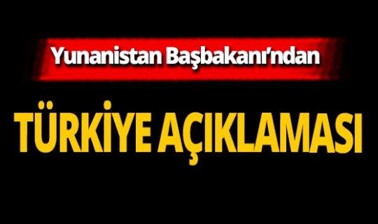 SON DAKİKA! Yunanistan'dan çok önemli Türkiye açıklaması