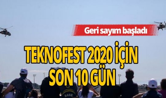 TEKNOFEST 2020 başlıyor!