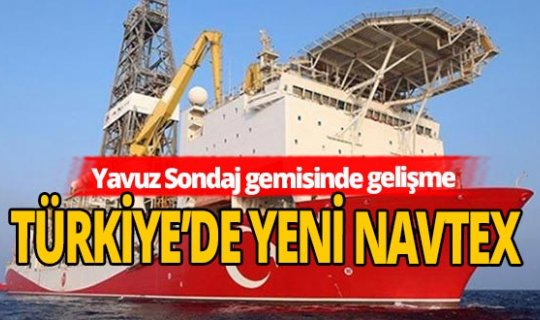 Türkiye'de Yeni Navtex ilanı