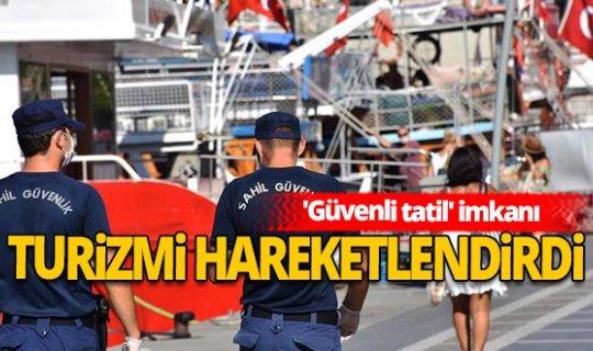 Türkiye'de salgın döneminde turizmi hareketlendi