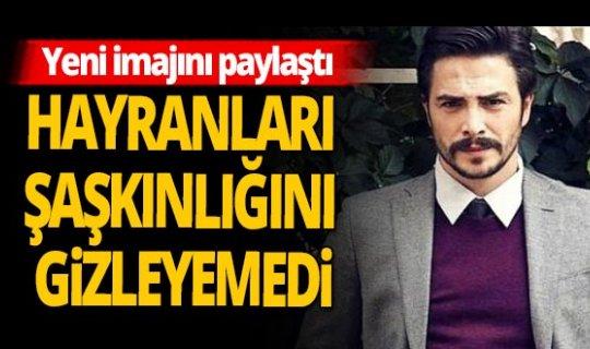 Ahmet Kural yeni imajını paylaştı