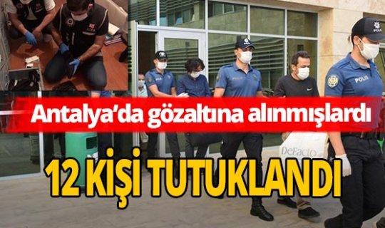 Antalya'da FETÖ'nün güncel yapılanmasına 12 tutuklama