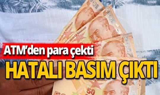 Antalya haber: ATM hatalı basım para verdi