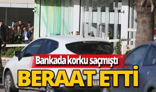 Antalya haber: Banka güvenliğini rehin almıştı, tahliye edildi