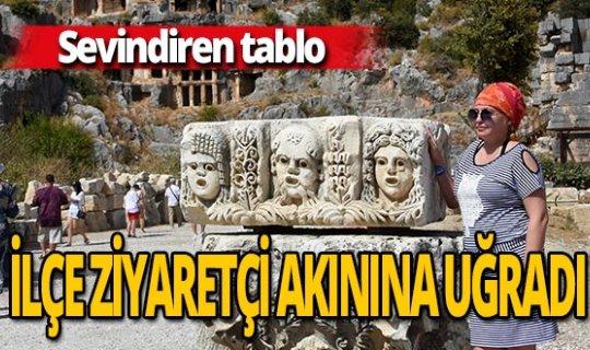 Antalya haber: Demre'ye ziyaretçi akını