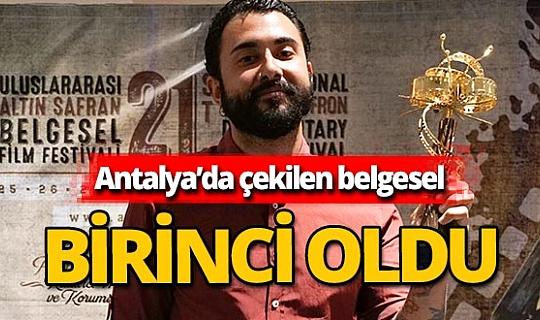 Antalya haber: Geyikbayırı belgeseli birinci oldu