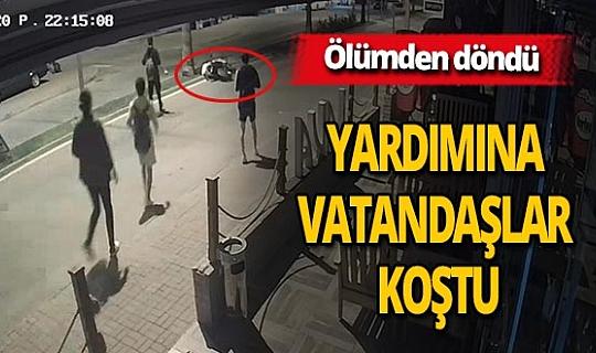 Antalya haber: Kasksız motosiklet sürücüsü ölümden döndü