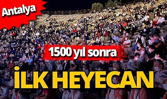 Antalya haber: Patara Antik Kenti'nde tiyatro coşkusu
