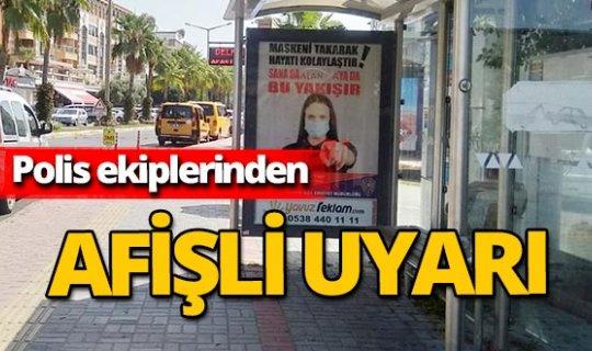 Antalya haber: Polislerden 'koronavirüs' uyarısı