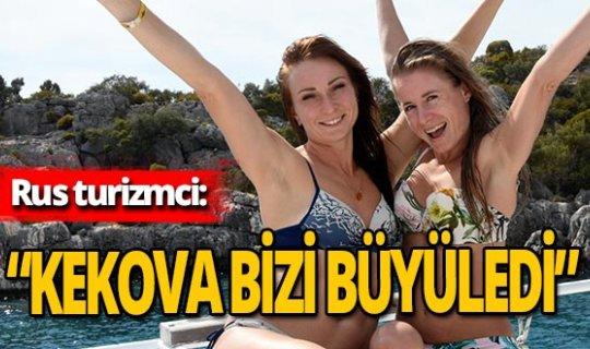 Antalya haber: Rus turistler Antalya'yı tavsiye ediyor