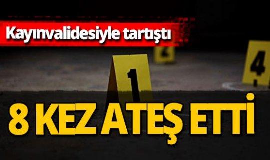 Antalya haber: Tartıştığı kayınvalidesini vurdu