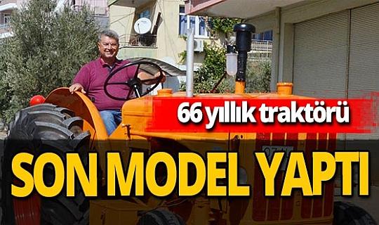 Antalya haber: Traktörü kendisinden 11 yaş büyük