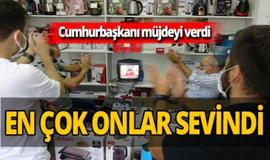 Cumhurbaşkanı Erdoğan'ın müjdesi en çok onları sevindirdi