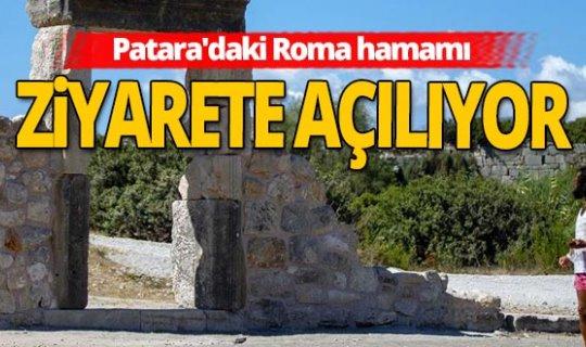 Antalya haber: Roma hamamı 2021'de ziyarete açılacak