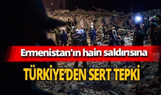 Ermenistan'ın alçak saldırısına Türkiye'den sert tepki