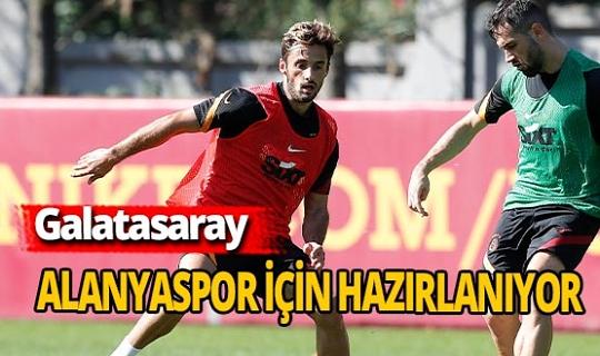 Galatasaray Alanyaspor deplasmanı için hazırlanıyor