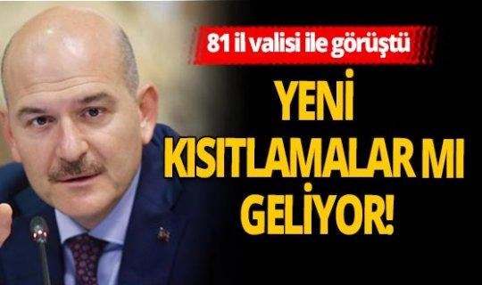 İçişleri Bakanı Süleyman Soylu'dan kritik görüşme