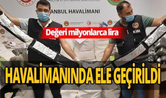 İstanbul Havalimanı'nda dev operasyon! Çok sayıda gözaltı var